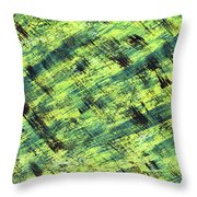 Cautious Throw Pillow