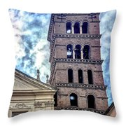 Cecilia's Bells Throw Pillow