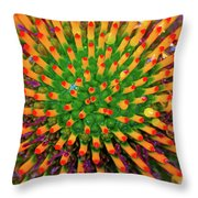 Centrifugal Throw Pillow