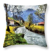 Cfm13891 Throw Pillow