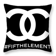 Chanel Fifth Element-2 Throw Pillow