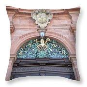 Chapel Door Throw Pillow