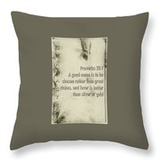 Character 22 1 Throw Pillow