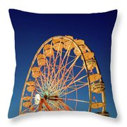 Chariots Of Gold Throw Pillow
