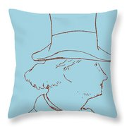Charles Baudelaire By Edouard Manet Throw Pillow