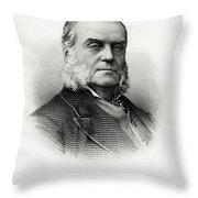 Charles J. Folger Throw Pillow