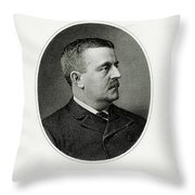 Charles S. Fairchild Throw Pillow