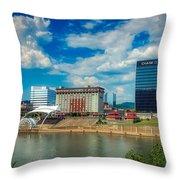 Charleston, West Virginia Throw Pillow