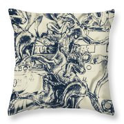 Charming Cup Throw Pillow