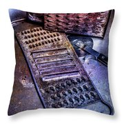 Cheese Grater 30 Throw Pillow
