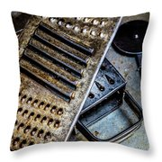Cheese Grater 33 Throw Pillow