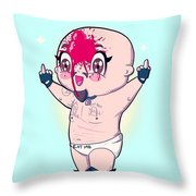 Chibi Allin Throw Pillow