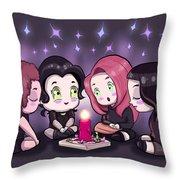 Chibi Craft Throw Pillow