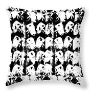 Chicken Farm 3 Throw Pillow
