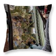 Chiesa Di Sant' Ignazio Di Loyola Throw Pillow