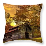 Chill Of An Early Fall Throw Pillow