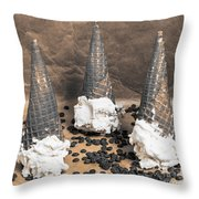 Chip Off The Old Block Throw Pillow
