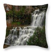 Chitennango Falls Throw Pillow