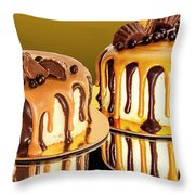 Chocolate Delights Throw Pillow