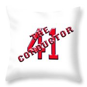 Chris The Conductor Sale Throw Pillow