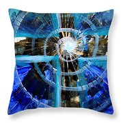Christ Now Throw Pillow