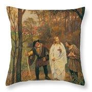 Christus Und Die J Nger Von Emmaus 1914 Throw Pillow