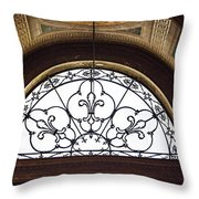 Church Of St. Louis Of The French Throw Pillow