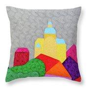 City 1 Throw Pillow
