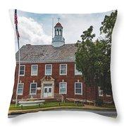 City Hall - Shelby, North Carolina Throw Pillow