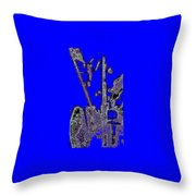 Abstract/city Lights Throw Pillow