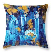 City Streets Cle Throw Pillow