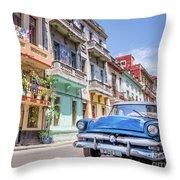 Classic Car Havana 8x10 Throw Pillow