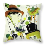 Classic Movie Poster - The Cocoanuts Throw Pillow