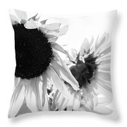 Classic Sunflowers Throw Pillow