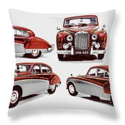 Classically British Throw Pillow