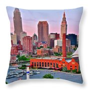Cle Is Lookin Good Throw Pillow