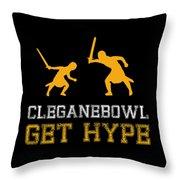 Cleganebowl  Throw Pillow