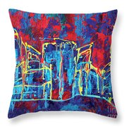 Cleveland Jazz Throw Pillow