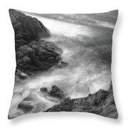 Cliffs Down Under Throw Pillow