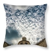 Cloud Or Two Throw Pillow
