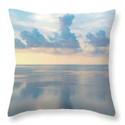 Cloud Reflections On Pamlico Sound Throw Pillow