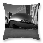 Cloudgate 2 Throw Pillow