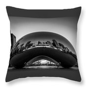 Cloudgate4 Throw Pillow