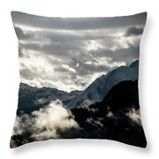 Clouds Above All Throw Pillow