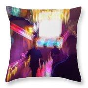 Clubbing On Arcturus Iv Throw Pillow