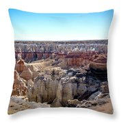 Coal Mine Canyon #2 Throw Pillow
