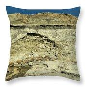 Coal Vein Makoshika State Park  Throw Pillow