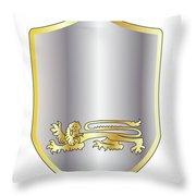 Coat Of Arms Throw Pillow