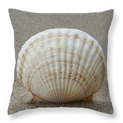 Cockle Shell 2015c Throw Pillow