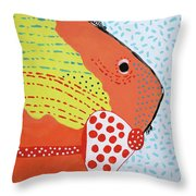 Al Bacores Big Night Out Throw Pillow by Deborah Boyd
